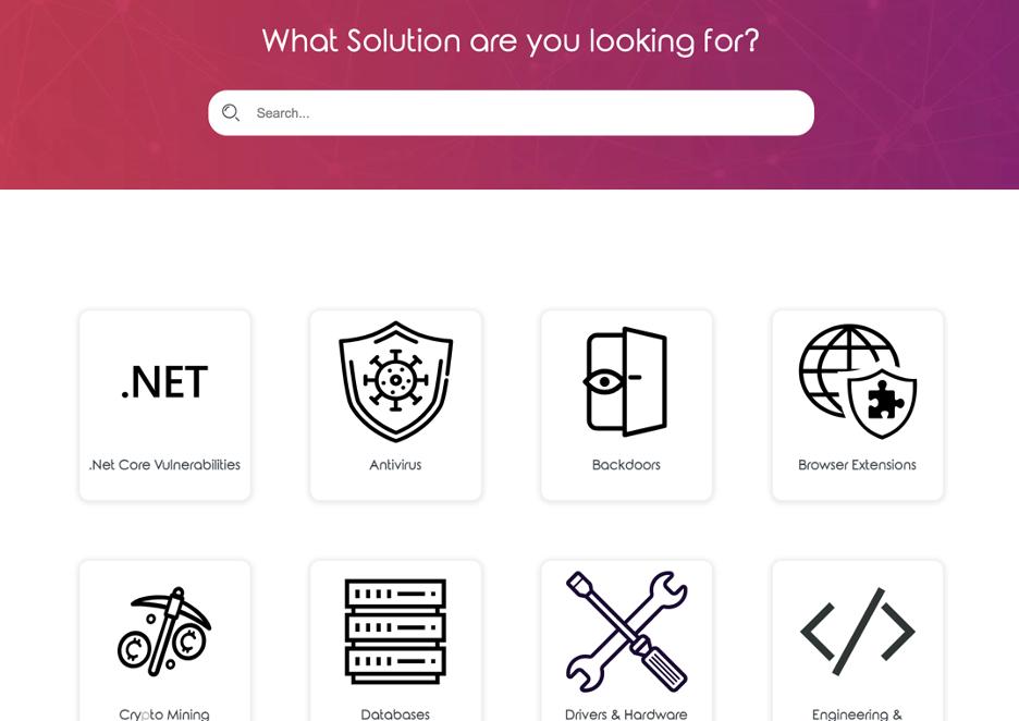 Vulnerability Solutions Database