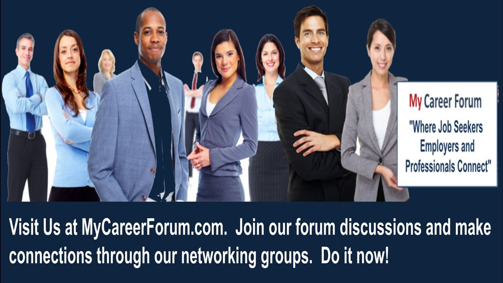 My Career Forum - Where connections are made