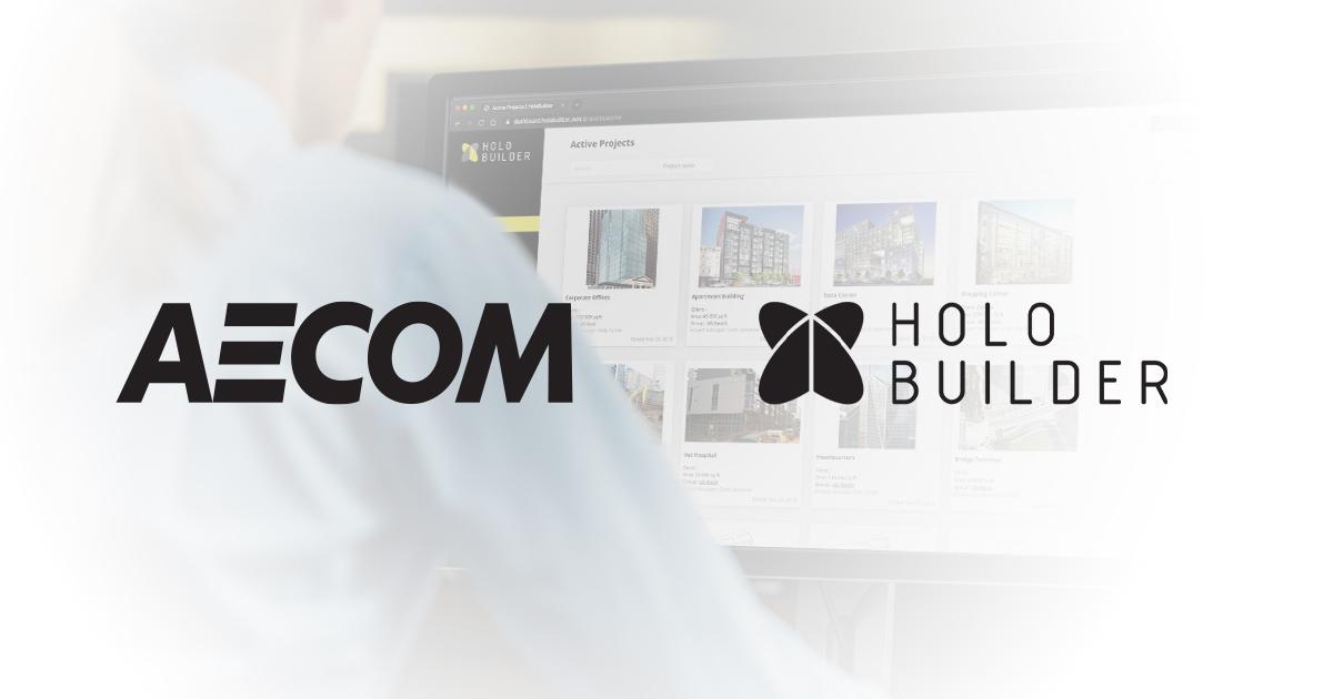 HoloBuilder Welcomes AECOM as Enterprise Customer