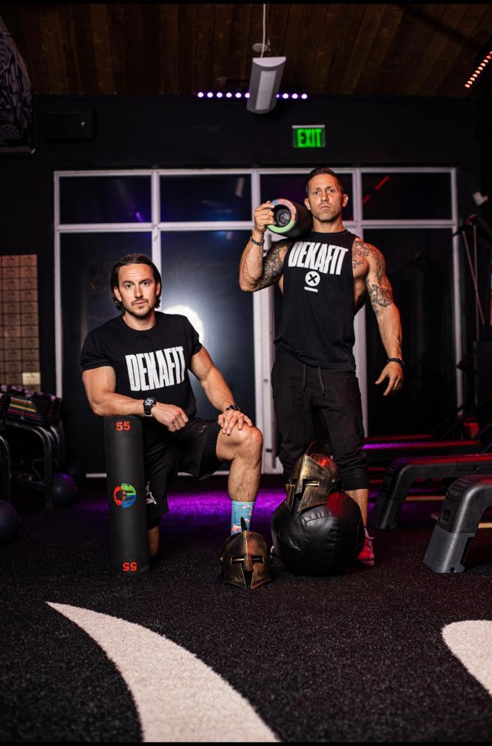 Slash Fitness Owners Austin Brock and Joe Ardagna
