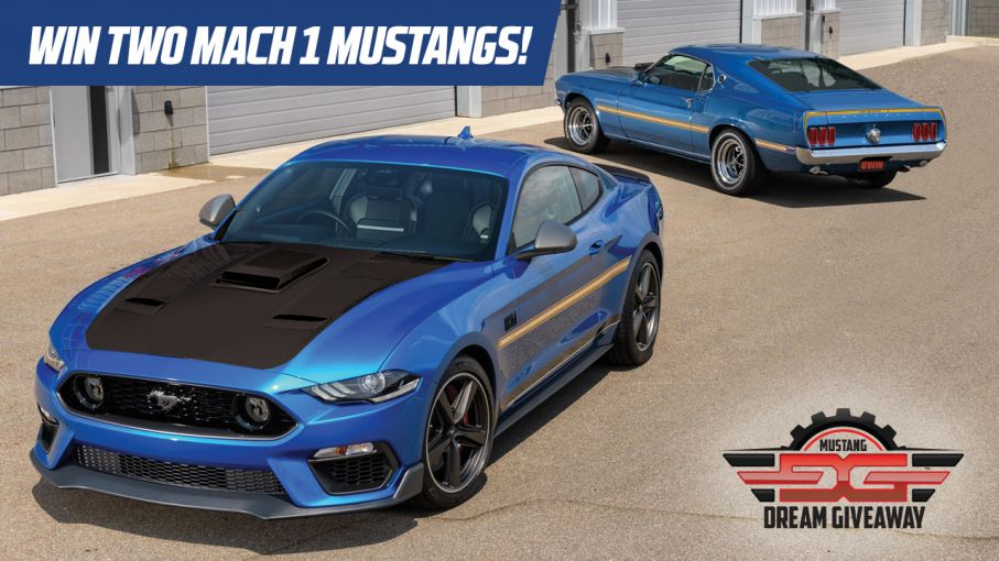 Win a Pair of Mach 1 Ford Mustangs!