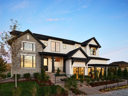 Toll Brothers Ogden Farmhouse Home Design