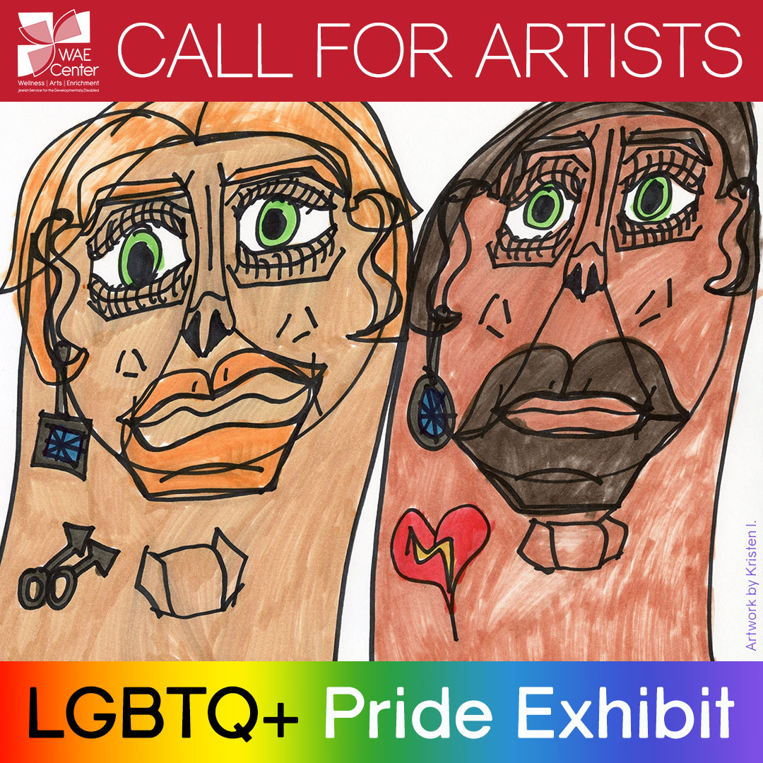 Allies and caregivers also welcome to submit art