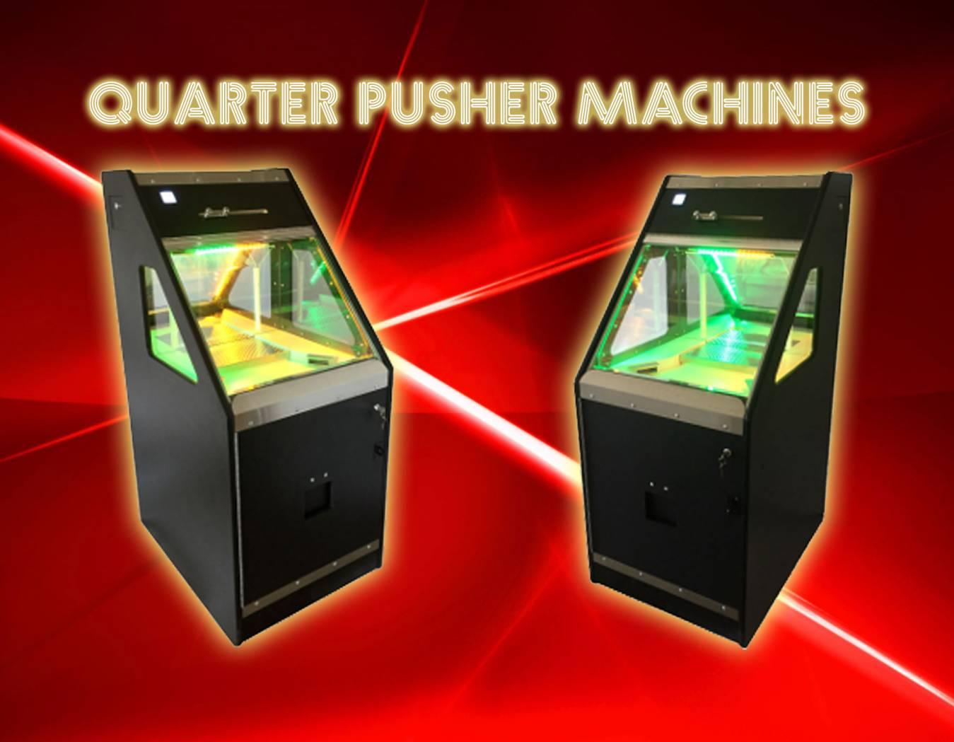 Quarter pusher machines