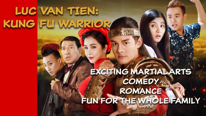 Luc Van Tien: Kung Fu Warrior-the new Jackie Chan!