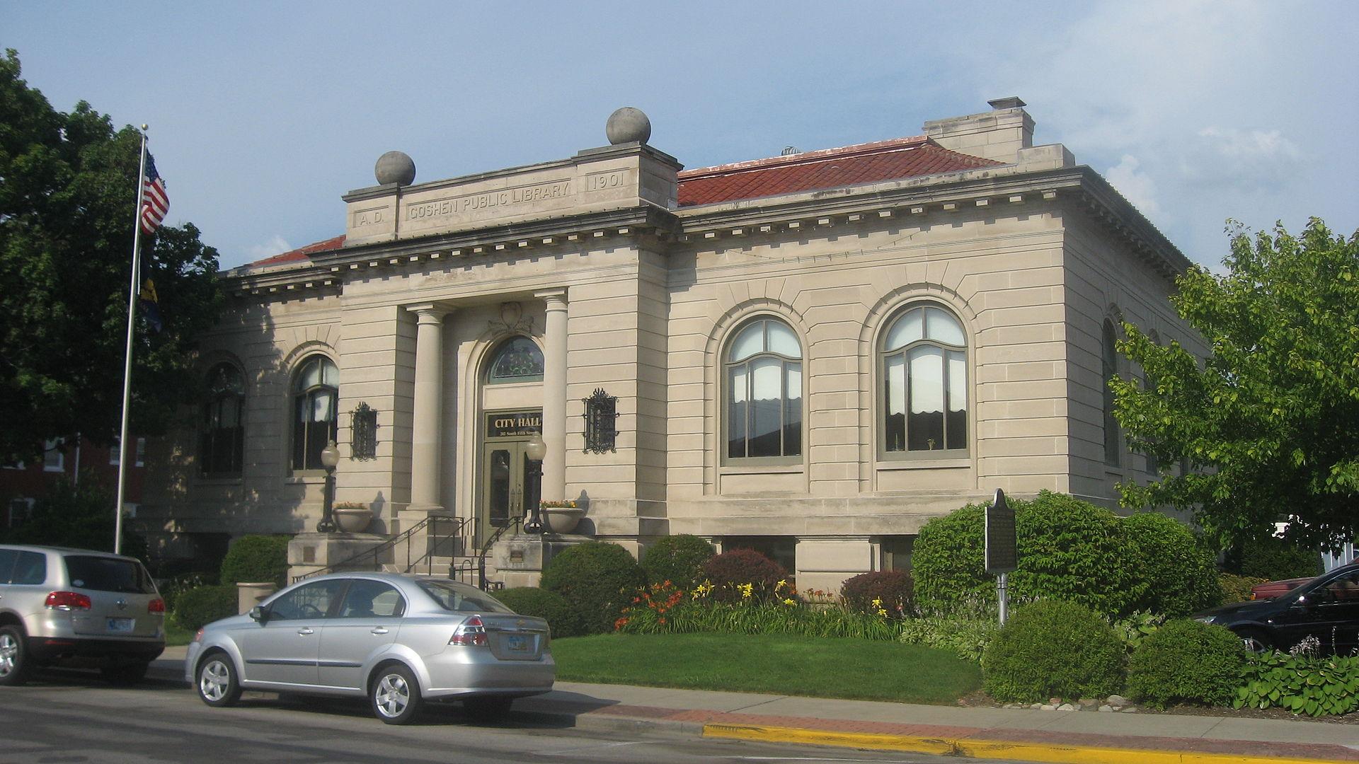 1920px Goshen Carnegie Public Library