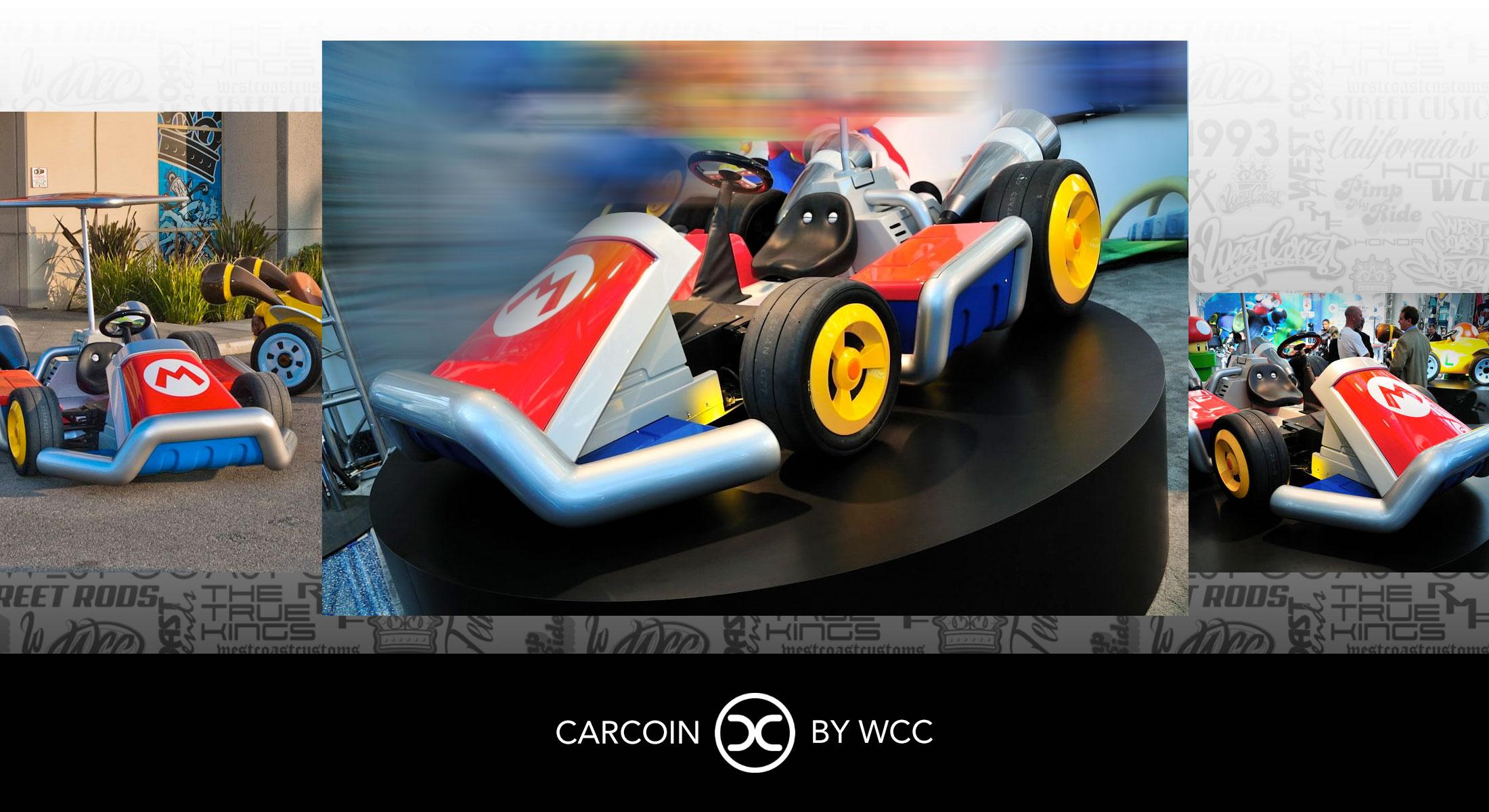 Carcoin Mario Cart
