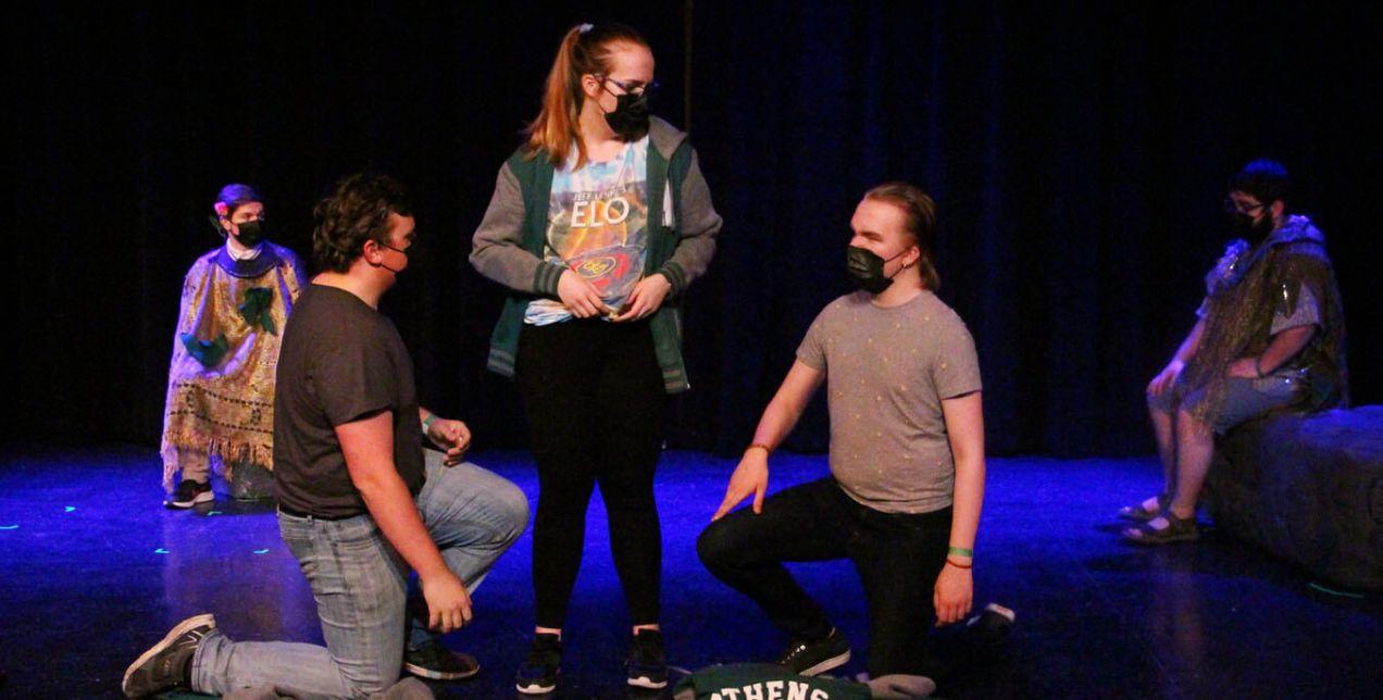Live theatre at Thiel College