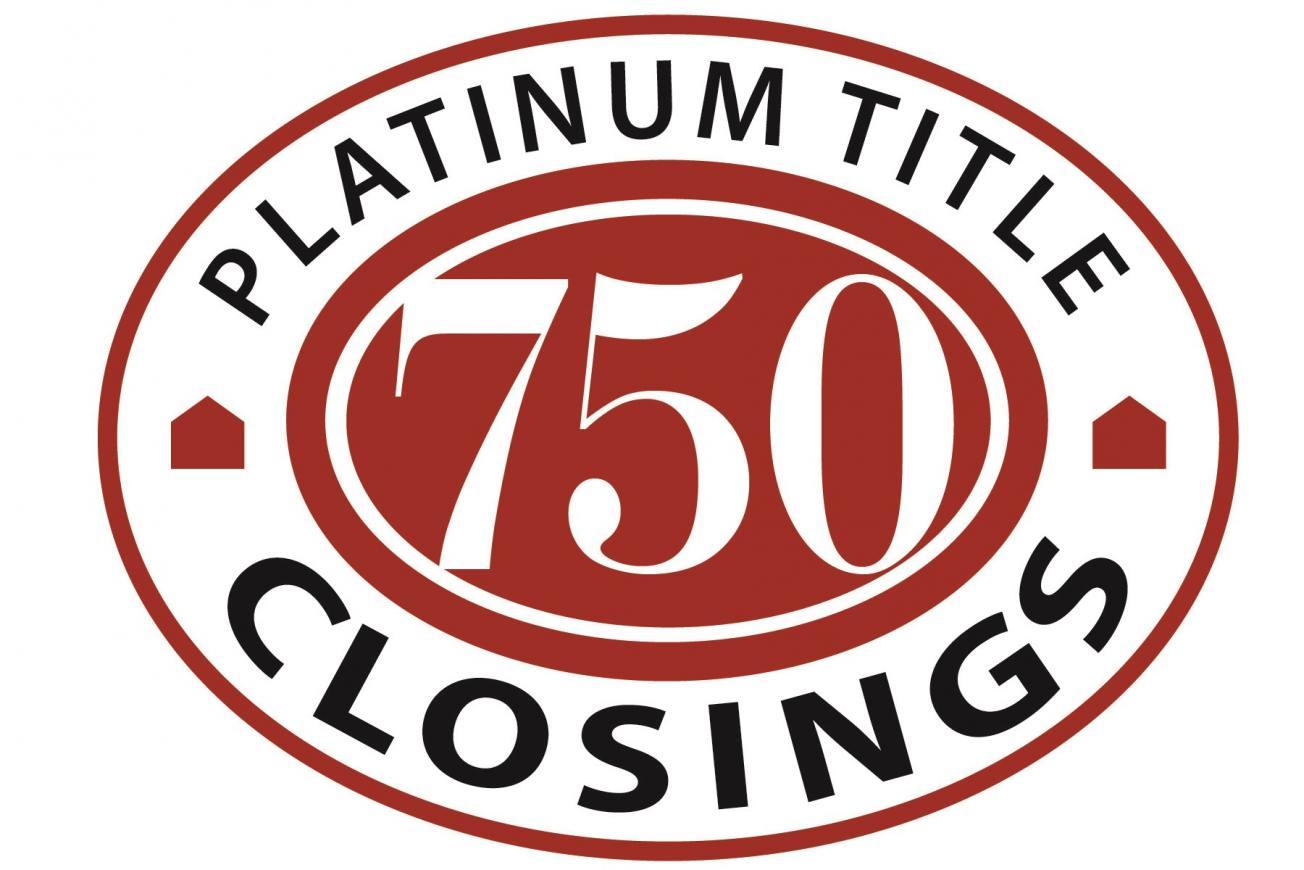 Platinum Title Celebrates 750 Closings