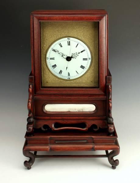 Beautiful 19th century Chinese bracket clock.