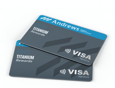 Winning Titanium Rewards Credit Card
