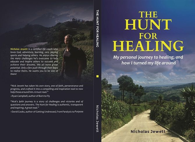 """""""The Hunt For Healing,"""" available on Amazon"""