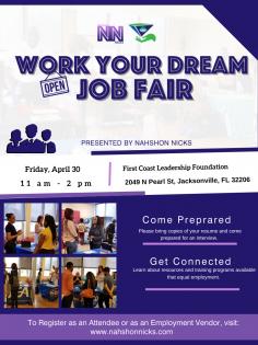 Work Your Dream Job Fair