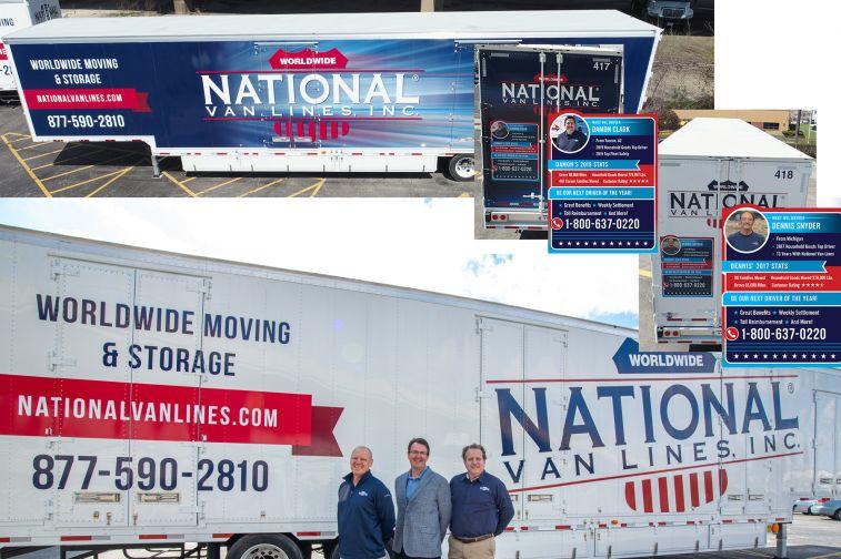 New trailer designs for National Van Lines