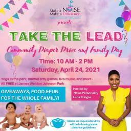 Take The Lead Community Diaper Drive