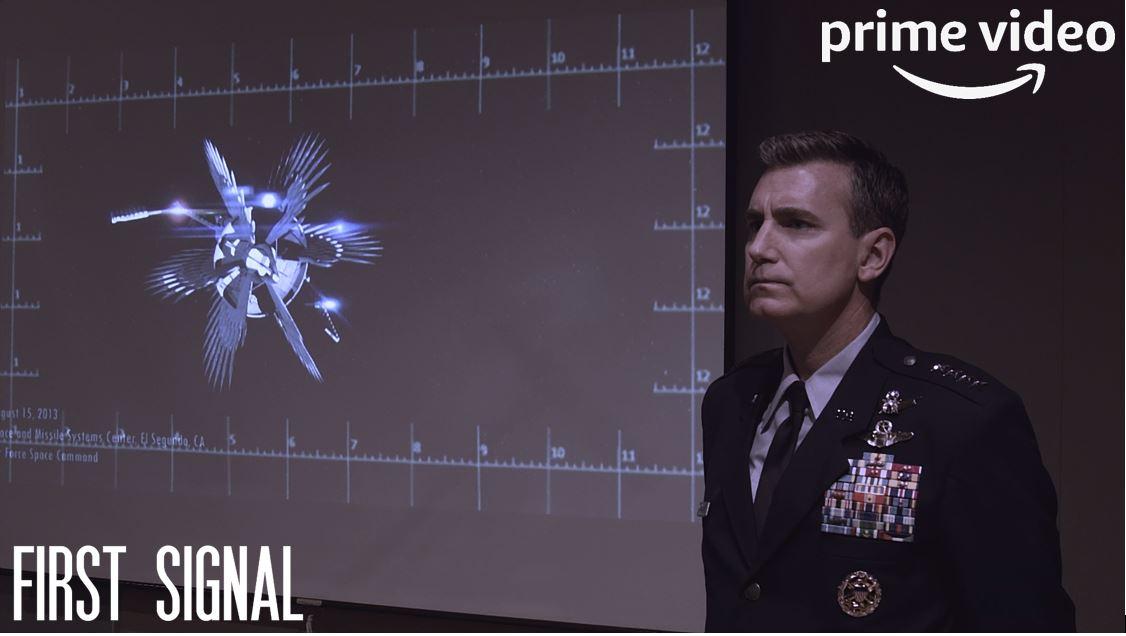 First Signal Film Still General Reager