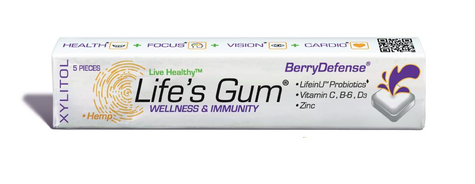 Life's Gum®, made in Denver, Colorado USA