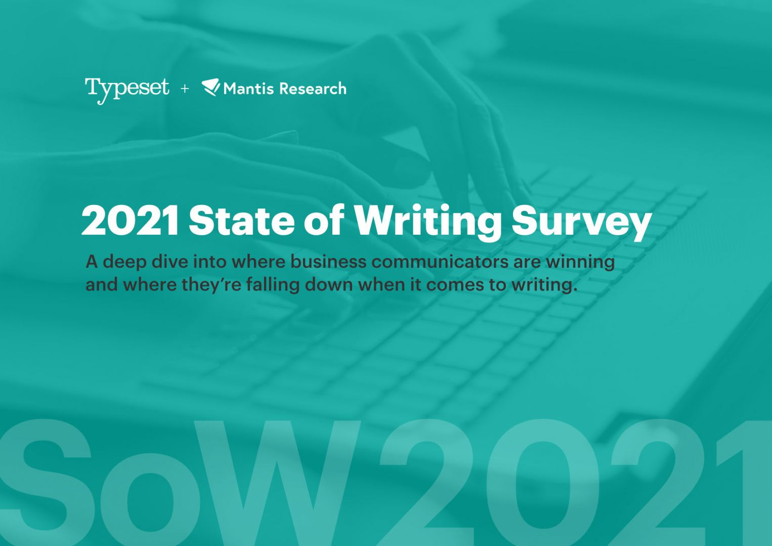 State of Writing 2021 (second annual report)