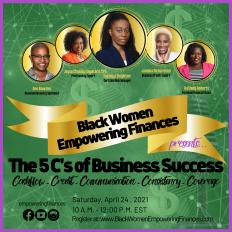 Final Black Women Empowering Finances Pic
