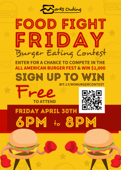 Food Fight Friday Flyer