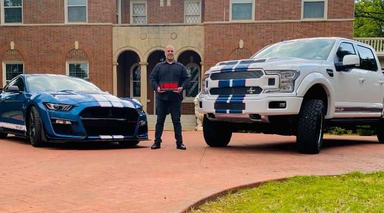 John Hilmi won the Shelby Dream Giveaway!