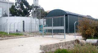 Water tanks at ILRI campus Addis Ababa