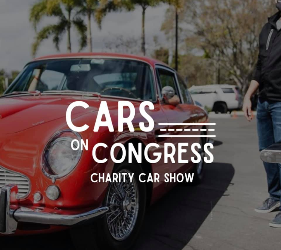 Cars On Congress Charity Show on Sunday, May 16