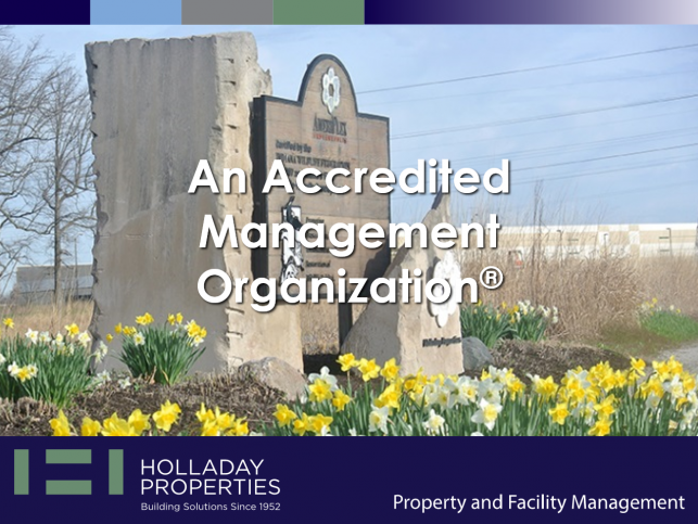 Holladay is an Accredited Management Organization