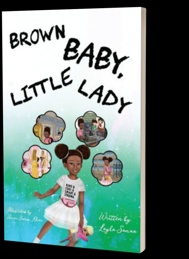 Brown Baby Little Lady