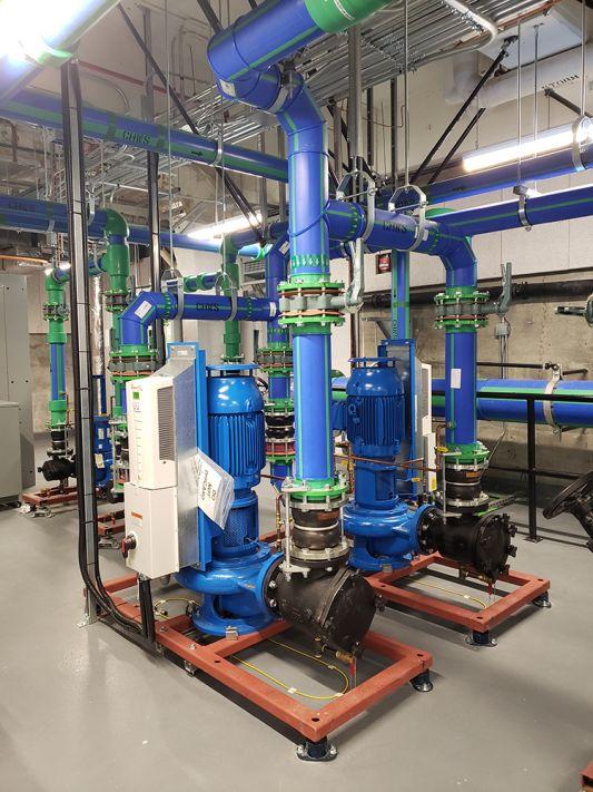 AKCP Rope Water Sensor at Simon Fraser University