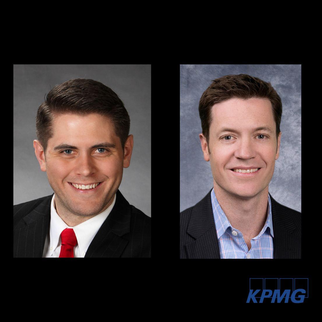 Brian Radakovich and Thomas Haslam, KPMG