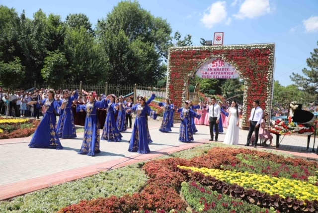Explore Uzbekistan, visit Namangan Flower Festival