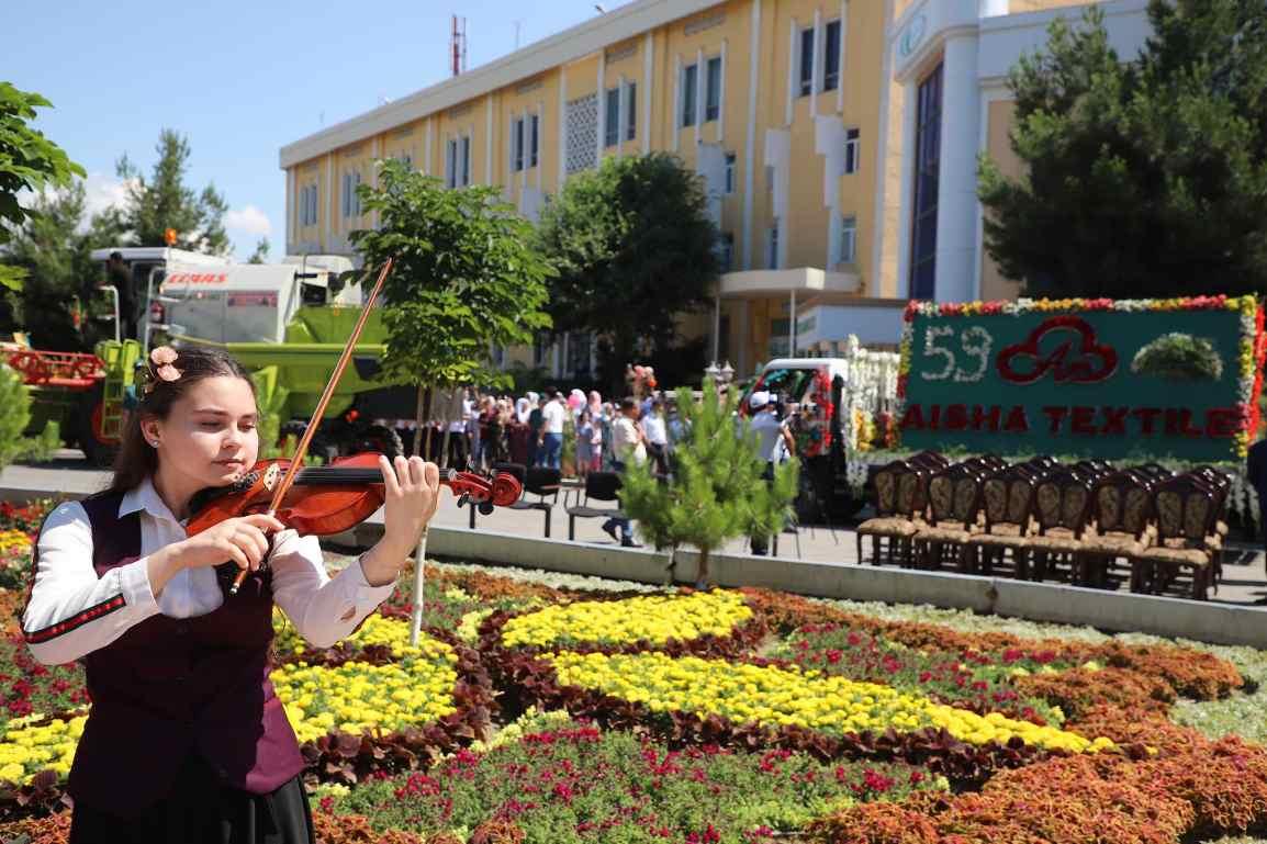 Namangan Flower Festival in Uzbekistan