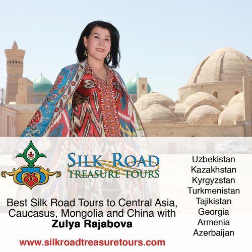 Travel to Uzbekistan with expert Zulya Rajabova
