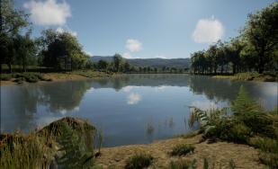 UnrealWild's procedural terrain rendering.