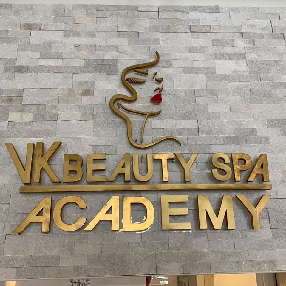 VK Beauty Spa/Academy logo