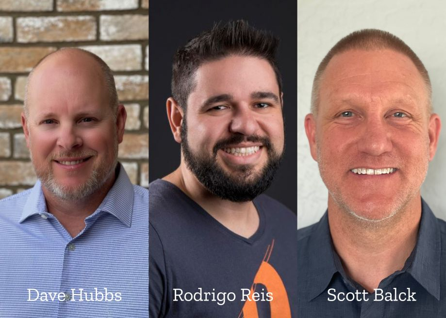 Three new team members have joined Mosaic.