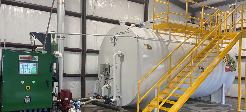 Greasezilla generates advanced biofuel from waste