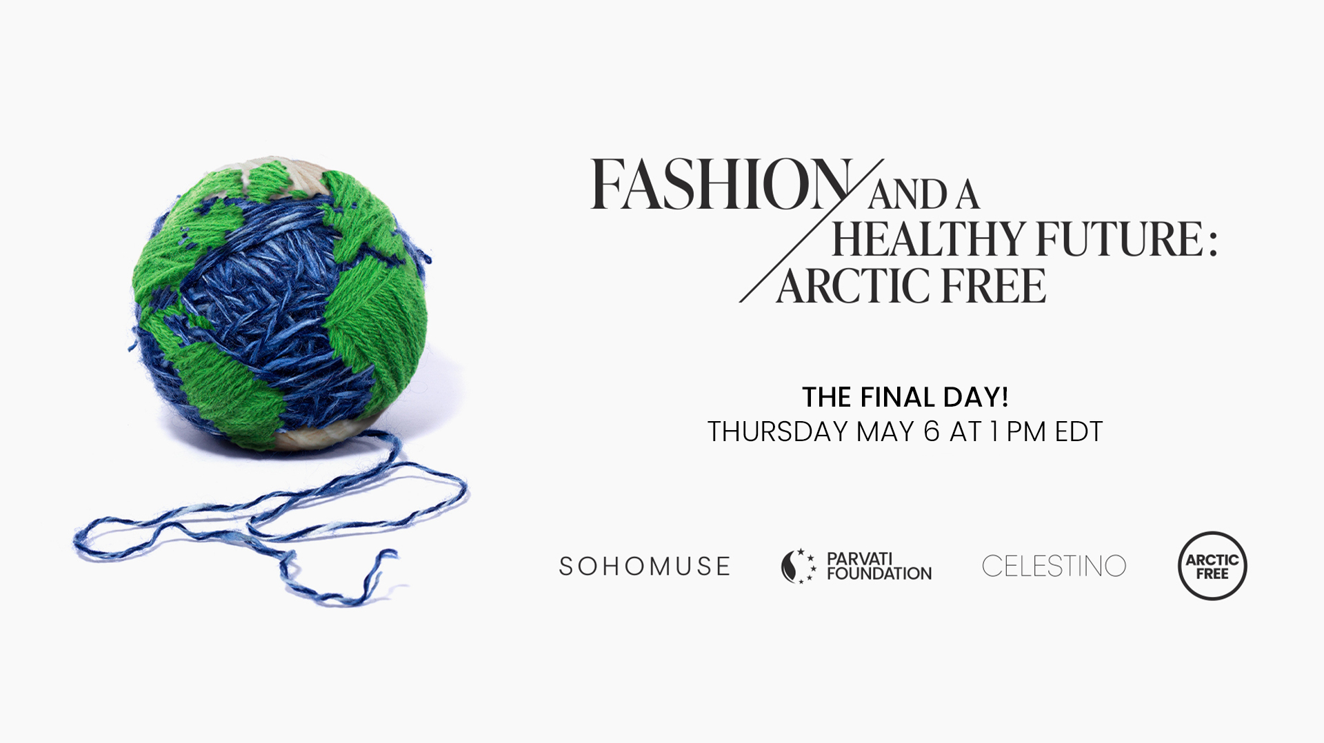 Fashion And A Healthy World Final Day Poster 1