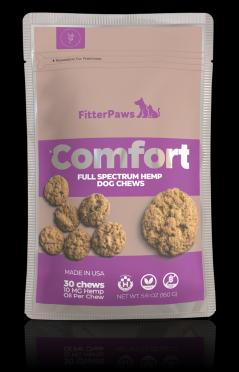 FitterPaws Comfort Hemp Dog Chews