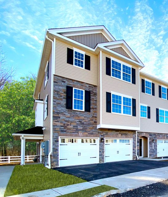 The Atlantic townhome at Heritage at Middletown.