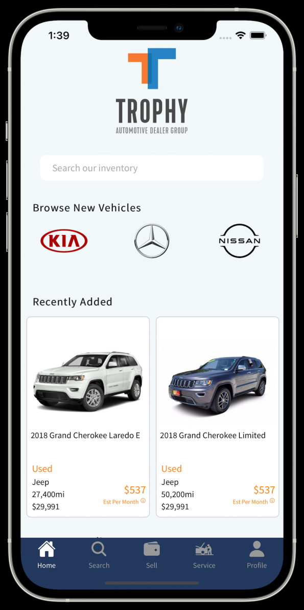 Trophy - Buy & Sell Cars