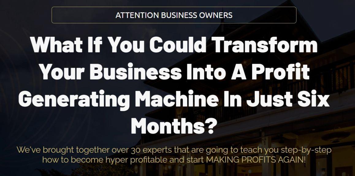 Make Profits Again General