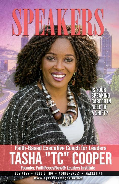 TC Cooper, cover story of SpeakersMagazine.com