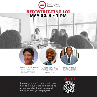 Urban League Redistricting T Own Hall May 20