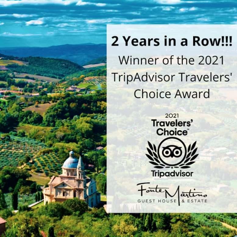 Fonte Martin Wins Travel Award 2021