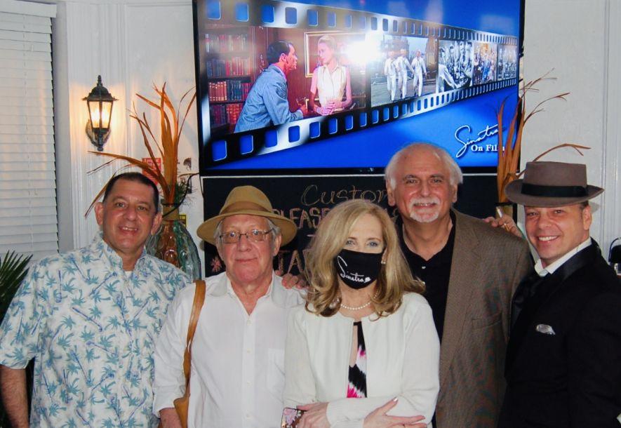 Chuck Granata, Dana Polan, Producer Karen Morris