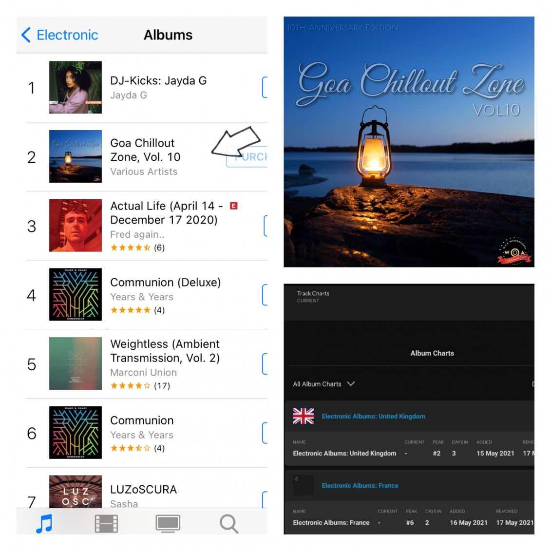 Goa Chillout Zone Vol.10 #2 UK Charts