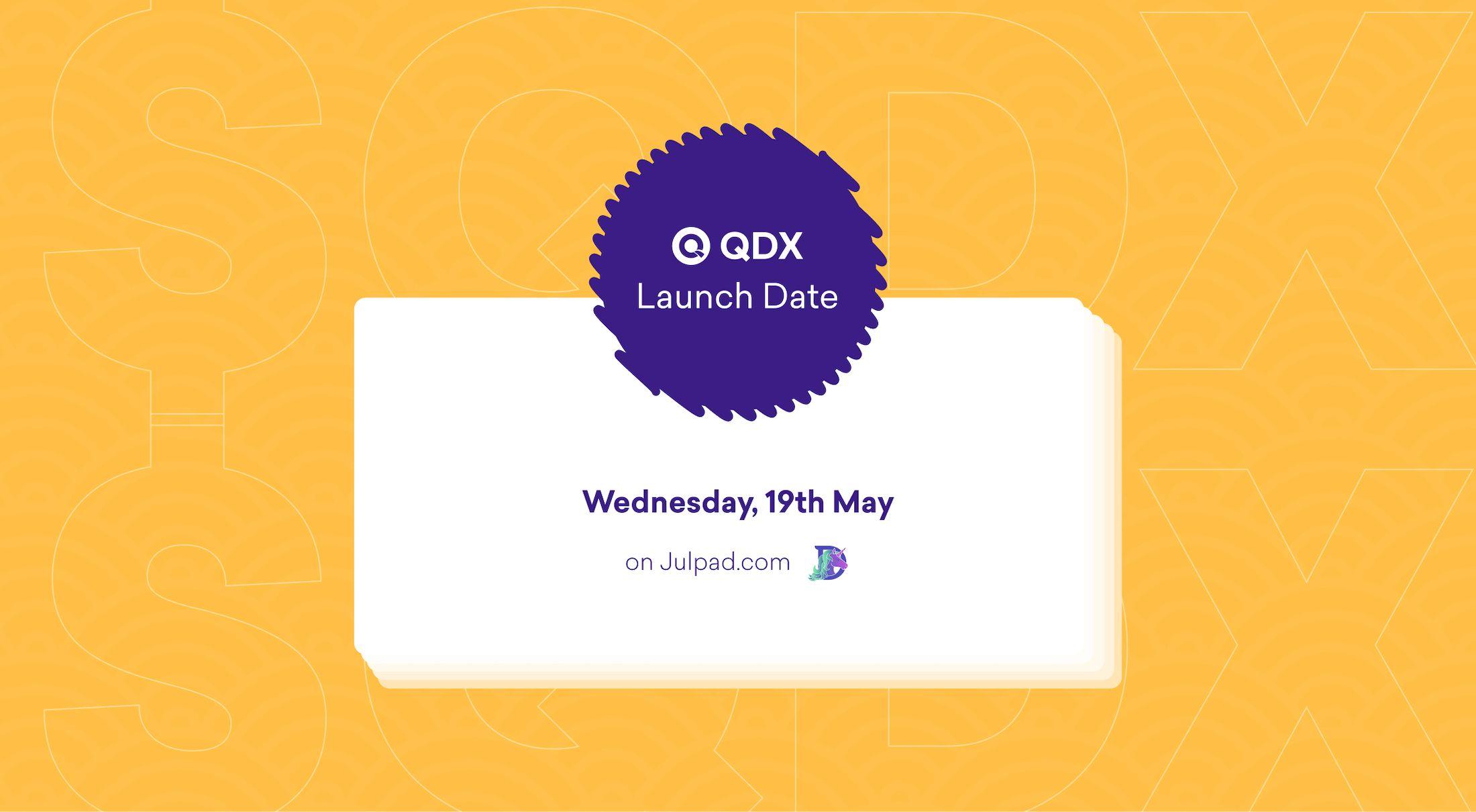 QDX Launch Date