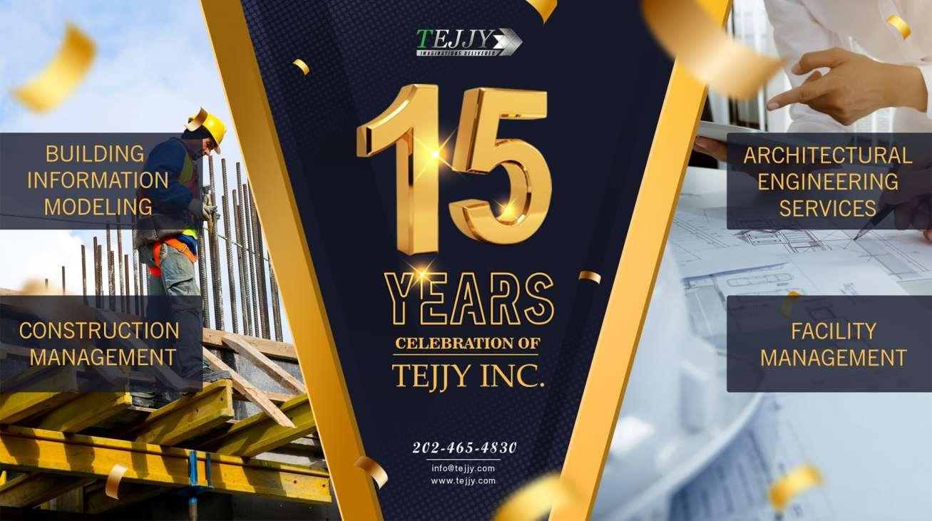 15 Years Of Tejjy Inc